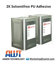 Solvent free solventless two component PU Adhesive / Glue for flexible package