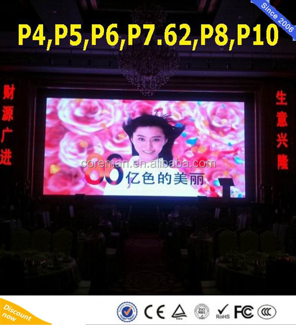 Front cabinet Maintenance P2.5 Mm Display Led P3 P4 HD module video led screen board