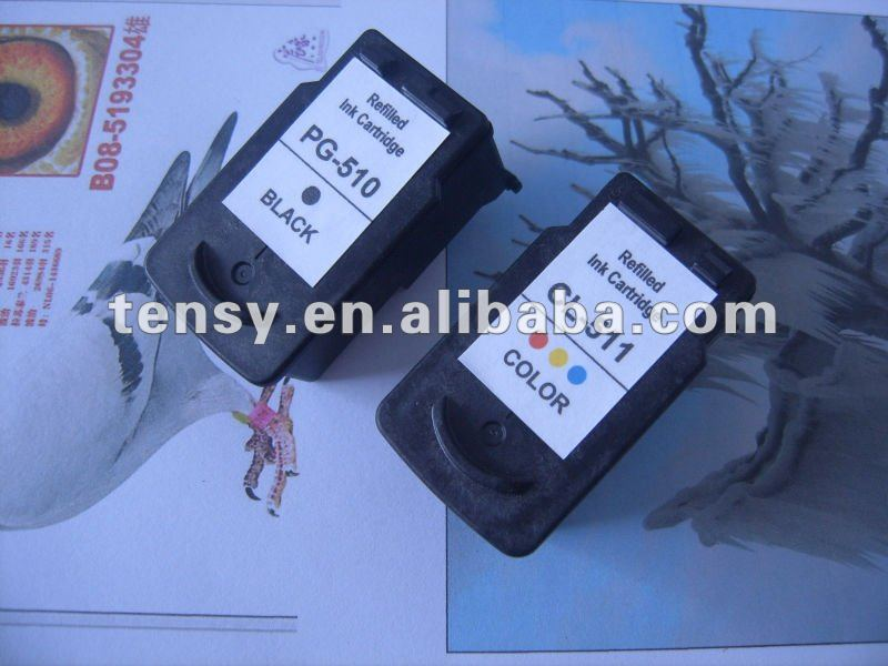 Compatible Ink Cartridges for Canon PG510/CL511
