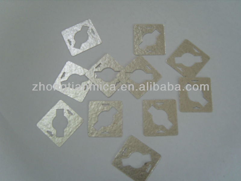 Insulation pipe mica parts, insulator