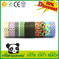 wholesale china factory bright washi tape japanese wall stickers