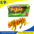 10 inches emulational tiger toy with window box