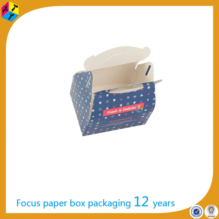 special packaging design color cupcake take away box