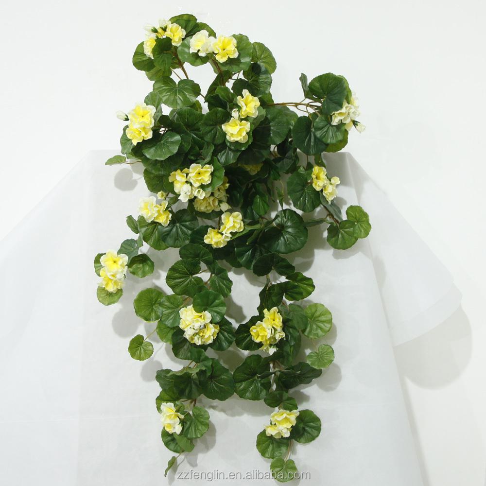 stock pas cher artificielle grande fuite g ranium fleur. Black Bedroom Furniture Sets. Home Design Ideas