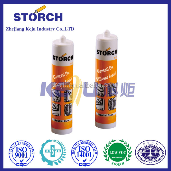 300ml eco friendly neutral silicone sealant for windows and doors