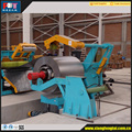 Steel Metal Slitting machines with flattening and cutting