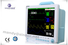 baby Multi Parameter Cardiac Patient Monitor equipment