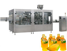 factory supplier small full automatic sugarcane fruit juice filling machine carbonated drink bottle production line prices