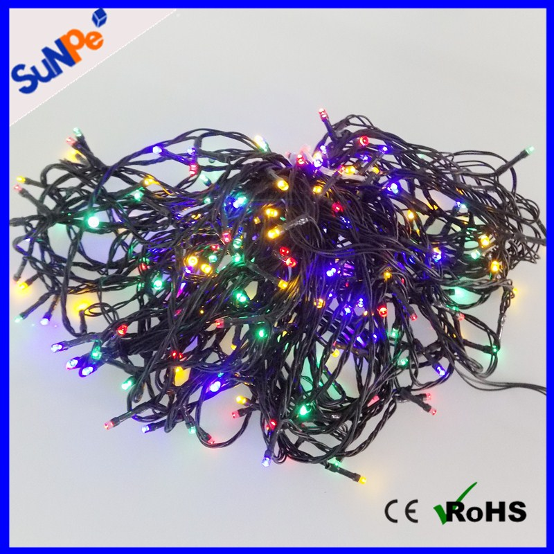 200 LEDs Holidays/Christmas Party Twenkle Star/ Sky Outdoor Decoration Solar String Lights