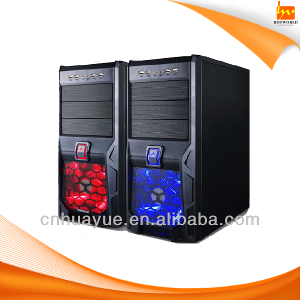 Deluxe color computer gaming case with defferent types