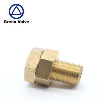 Green Guten-Top Double nuts Detachable Used for construction pipes pex pipe fitting
