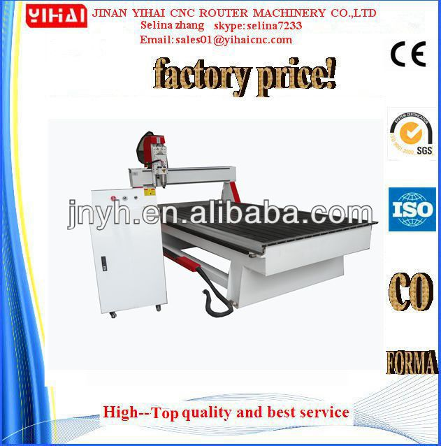 Jinan professional cnc router factory cnc milling machine magnetic table with CE approved