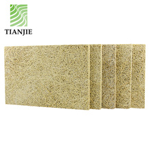 wood wool fiber cement insulation board wall tile