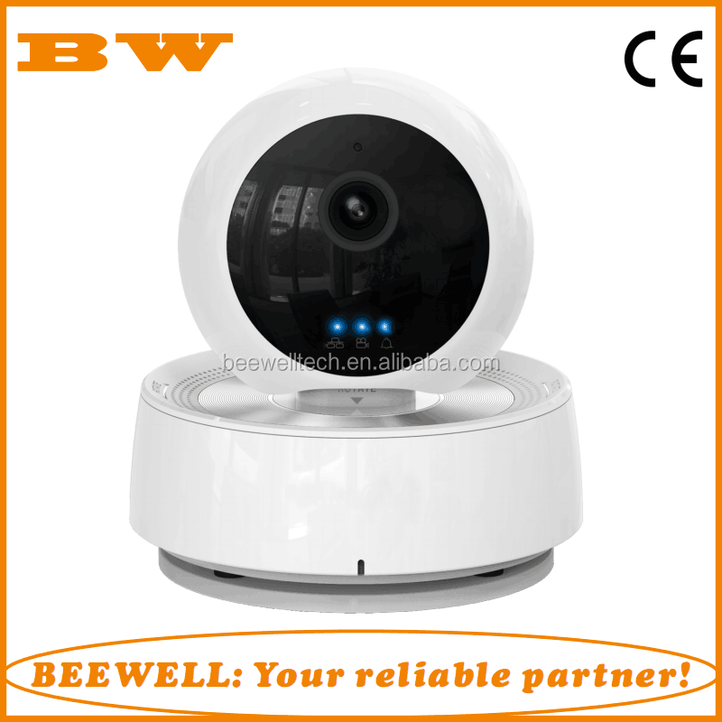 Wireless IP Camera Mini PTZ Home Indoor Smart Security Alarm System 720P HD Video