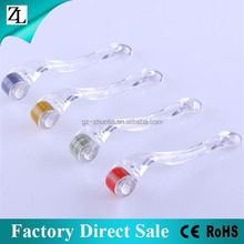 ZL Factory Direct Sale Micro Needle Roller Acne Scars Cellulite Wrinkles Stretch Face Body Derma 540 Needles