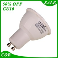 Best selling spotlight long lifespan gu 10 led dimmable