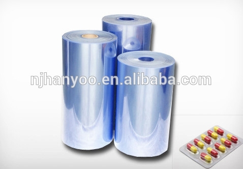 Pharmaceutical Grade Rigid PVC Clear Packing Film