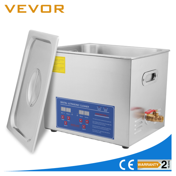 VEVOR Vgt-2000 Eyeglasses Watch Cleaning Ultrasonic Cleaner
