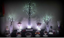 RGB party decoration led egg light crystal outlook for centerpieces