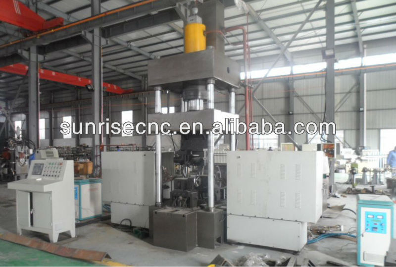 THQ250-600B CNC Heating Bending Machine for Angles and Plates