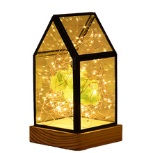 Bespoke low power consume ambience indoor christmas tree lantern wireless led string lights