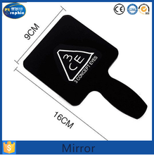 Single make up small hand mirror for wholesale
