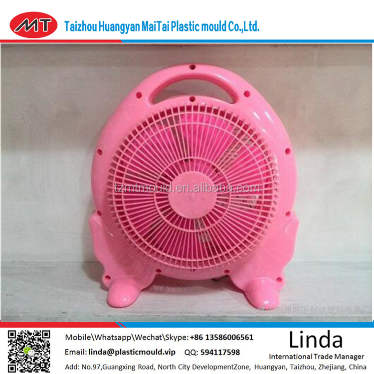 Electric fan plastic parts injection molds and processing suppliers/new product Plastic fan parts plastic injection moulding