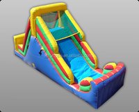 Gaint Bouncy Water slip N slide Inflatable Slide