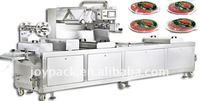 sliced cold meat vacuum packaging machine