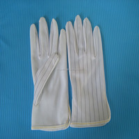 manufacturer esd polyester PU work gloves