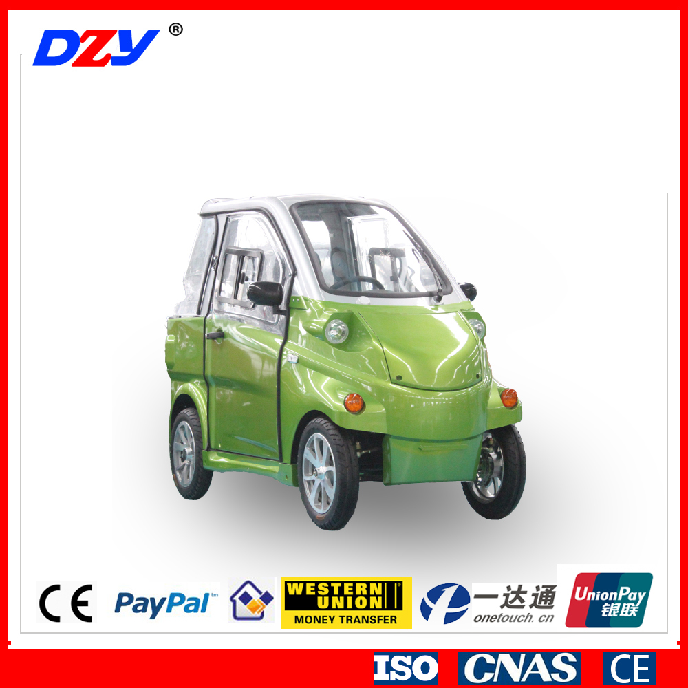 2016 Chinese Popular Motorized Passenger Three Wheel Electric Tricycle
