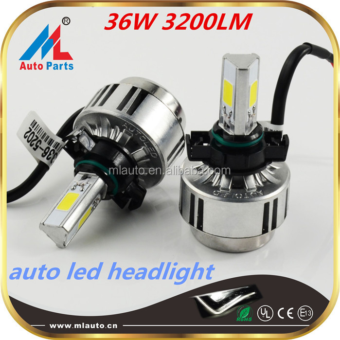 ML Patent 36w Car Light Led 3200lm Best Sale A336-5202 auto headlight dimmer