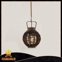 Custom industrial vintage hanging light fixture