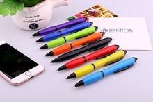 Alibaba competitive price high quality smooth writing with custom printing logo stylus ball pen