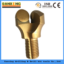 Two-wing PDC anchor shank coal mining drill bits