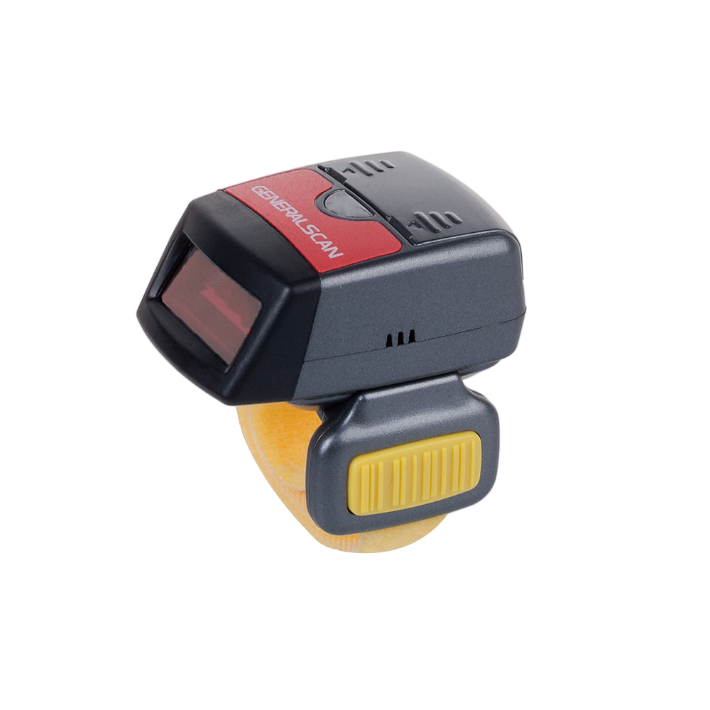 Hot Sale Generalscan GS R1000BT-HP 1D Laser Wireless Bluetooth/USB Wearable Ring Barcode Scanner