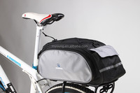 Multi-functional outdoor bicycle rear trunk bag
