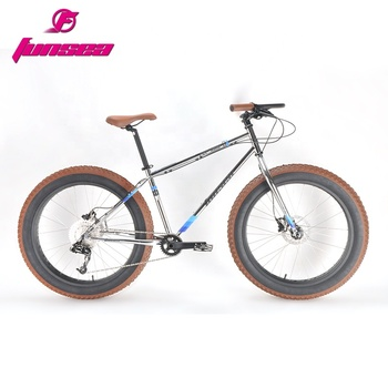 "New fashion high end alloy frame disc brake fatbike snow bicycle 26""*4.0"" fat tire beach cruiser bikes fat bike"