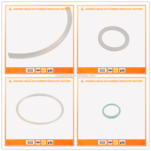 Wholesale High Temperature Fluorosilicone Ring White Rubber O Rings