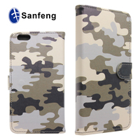 Wholesale Military PU & TPU Hybrid Case for iPhone6 Plus,for iPhone6s case