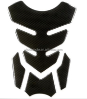 high quality Rubber material carbon style motorcycle tank pad