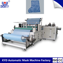 Fully Auto KYD Single Use Spunbond Fabric Boots Set Making Machine Good Price China Supplies