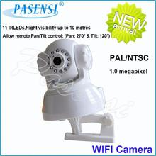 Factory wireless cctv camera kit PS-136 wireless outdoor dome ptz ip camera for wholesales