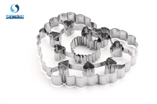 Stainless Steel Heart Shaped Bulk Cookie Cutter
