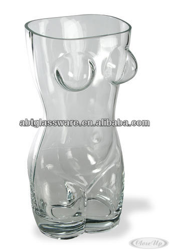 Hot New Product 500ml Naked Man Shape beer Glass