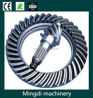 OEM High Precision Steel Spur Ring Worm and worm gear