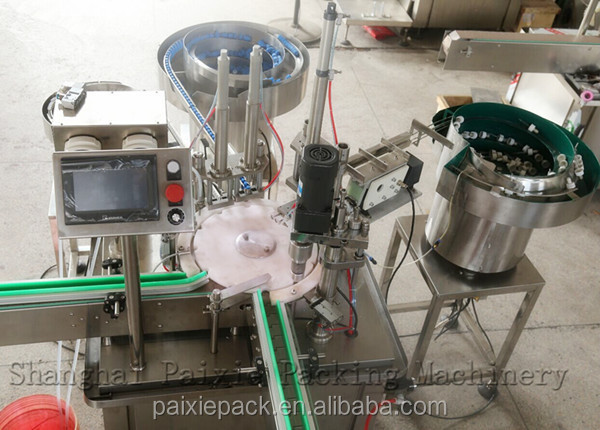 Full automatic vial glass bottle filling machine
