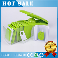 2017 new Multifunction Vegetable Slicer Shredder Dicer Chopper Swift Veggie Chopper