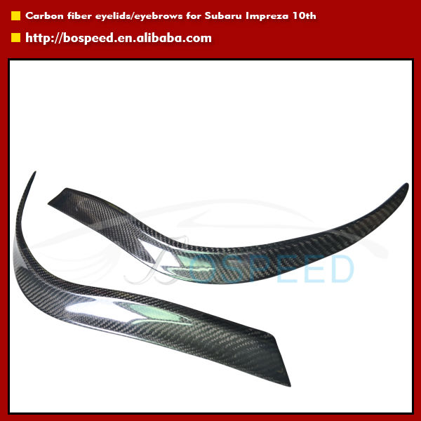 Carbon Fiber down Eyelid for Subaru Impreza 2008 2009 2010 2011 2012 Cars