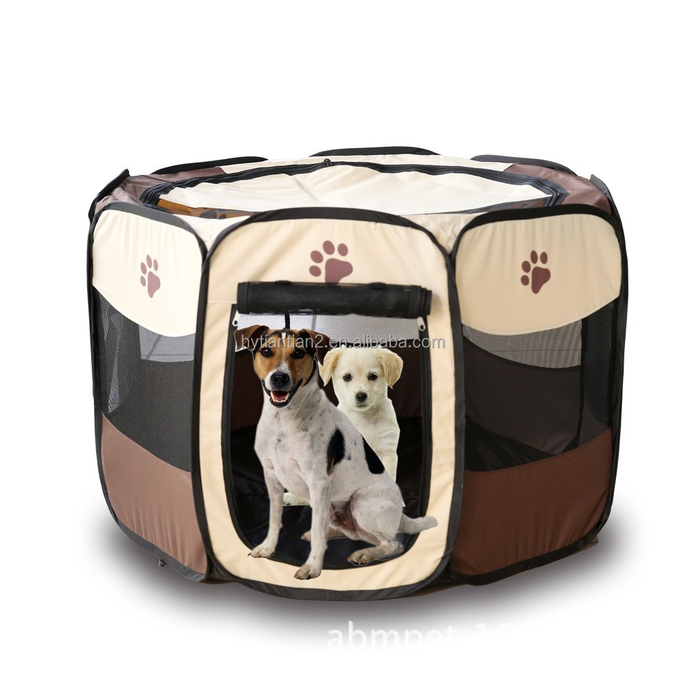 Pet Dog Tent Puppy Playpen Pet Bag Carrier Foldale Portable Play Pen Pet Carrier Bag